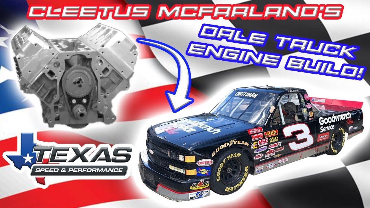 "Video: Building an LS7 for Cleetus McFarland's ""Dale Truck"""
