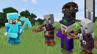Видео обзор Майнкрафт - Нуб на базе разбойников! - Летсплей игры Minecraft в видео шоу онлайн