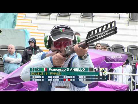 Finals Double Trap Men - ISSF World Cup in all events 2012, London (GBR)