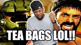 [ REACTION ] Master Chief vs Leonidas Epic Rap Battles of History‼ Plus The Behind The Scenes‼