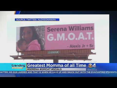 Trending: Serena Williams Billboards