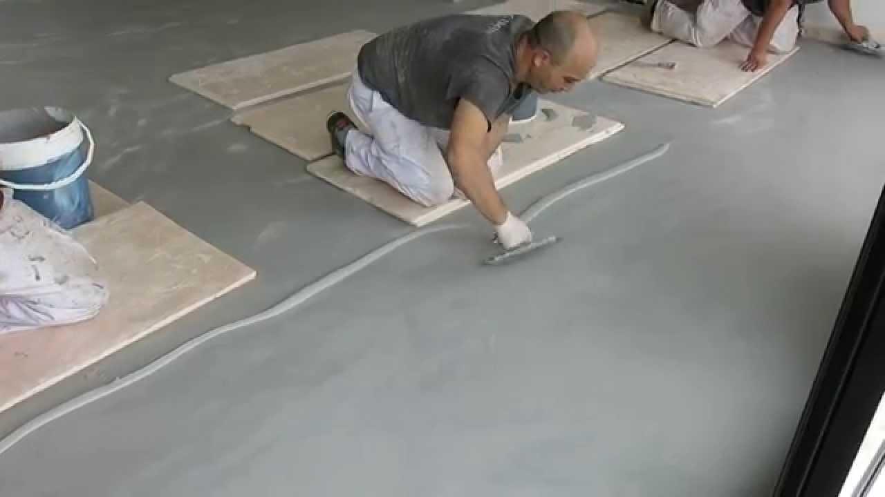 Reparaci n de un suelo de microcemento pavimentos continuos youtube - Pavimentos de microcemento ...