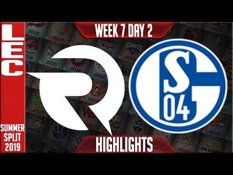 OG vs S04 Highlights | LEC Summer 2019 Week 7 Day 2 | Origen vs Schalke 04