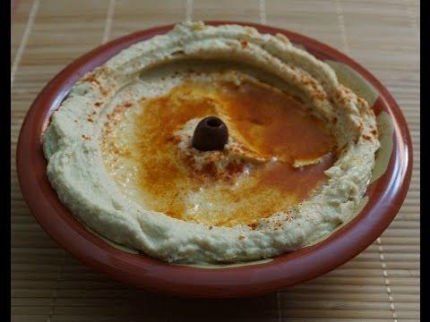 Hummus (original Egyptian recipe)...طريقة عمل سلطة إلحمص