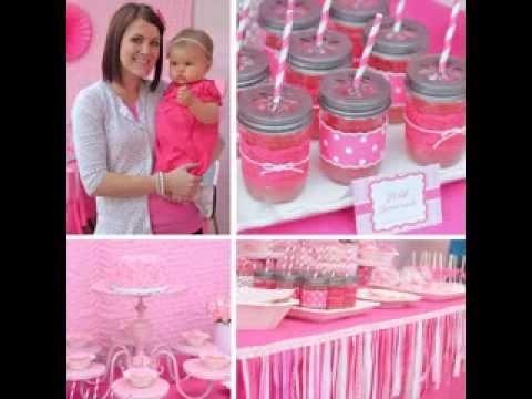 DIY First birthday party themes for girls YouTube