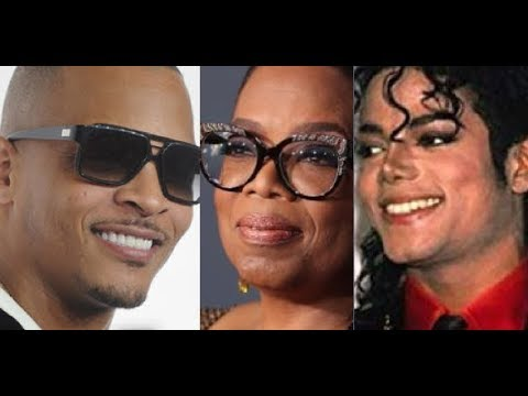 T.I. and Piers Morgan DEFEND Michael Jackson When Oprah and John Legend are Trying to Cancel