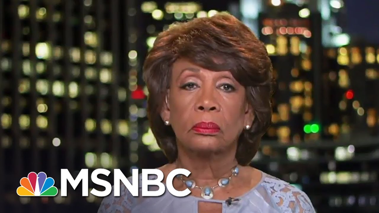 Rep. Maxine Waters: Keep Eye On Sanctions | All In | MSNBC