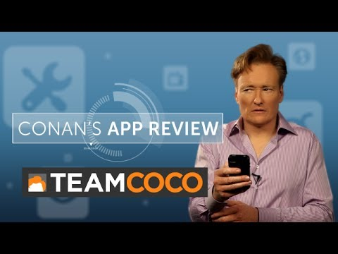 Conan's App Review: Stress Relief Apps