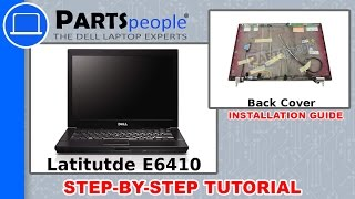 Dell Latitude E6410 LCD Back Cover How-To Video Tutorial