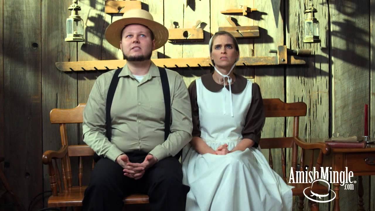 Amish mingle