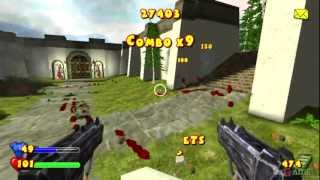 Serious Sam: Next Encounter - Gameplay PS2 HD 720P