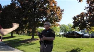 STOPPED BY POLICE in PONTIAC, MI (PINAC)
