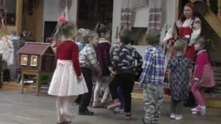 Коляда - открытый урок. Детская школа искусств им. М.А. Балакирева. Группа 4в. 14.01.2017г.