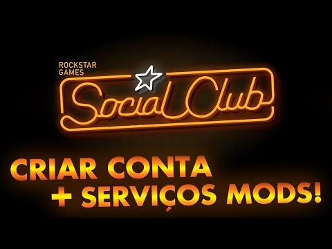 Como criar conta no Social Club e encontrar serviços com mods!