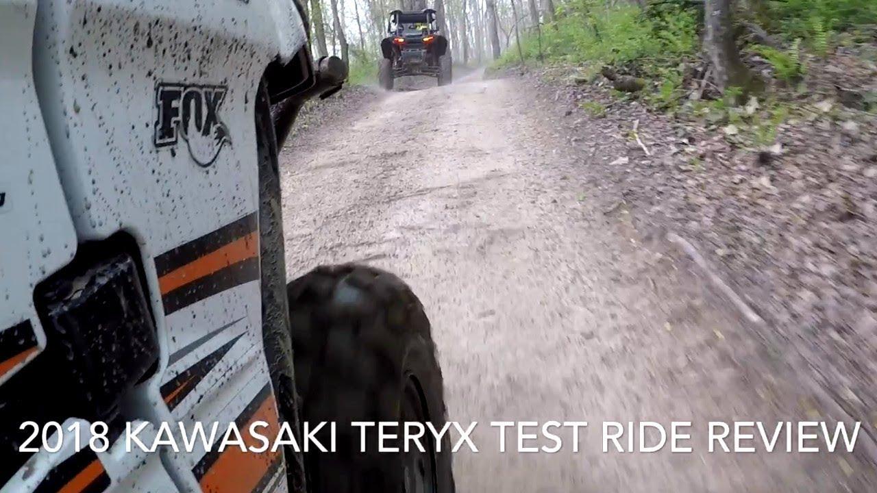 2018 Kawasaki Teryx - Trail Ride Review on Hatfield McCoy Trails