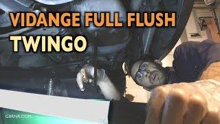 💦 Twingo vidange full flush 😱