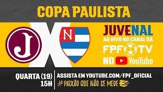 Juventus 1 x 0 Nacional - Copa Paulista 2018