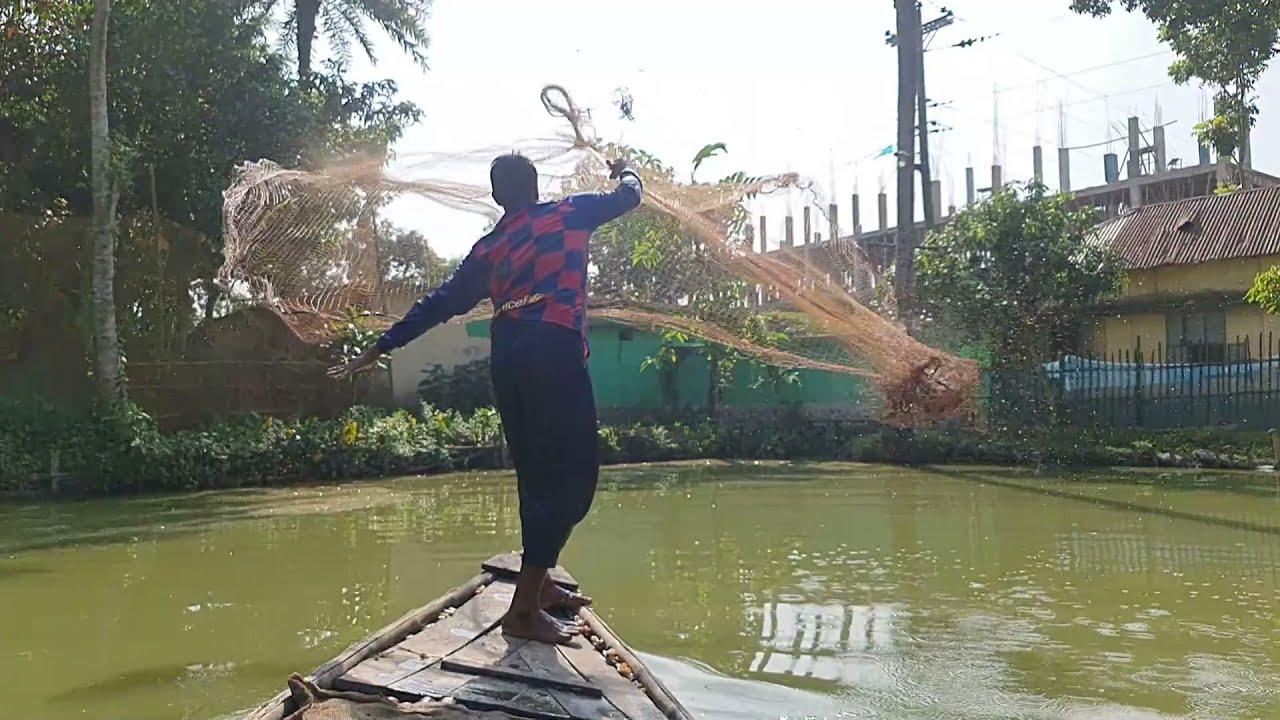 Monster Cast Net Fishing Video | Net Fishing | Fishing Video | Big Fish Catch