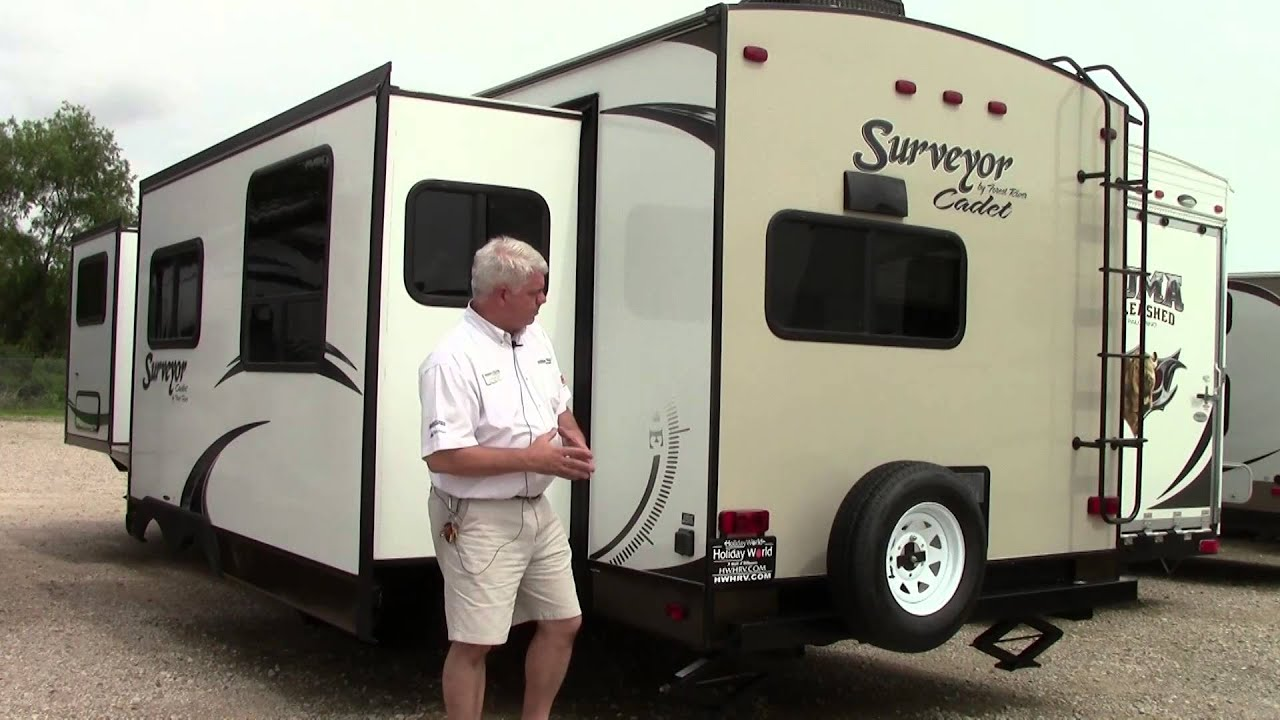 Preowned Forest River Surveyor Cadet 32RKDS Travel Trailer RV - Holiday  World of Houston in Katy, TX