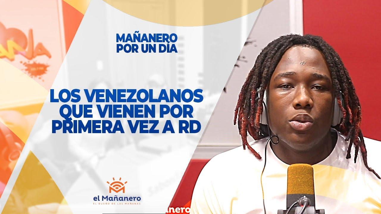 Los Venezolanos que vienen por primera vez a Rep. Dom. -