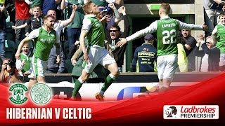 Hibs close on second after great win over Celts