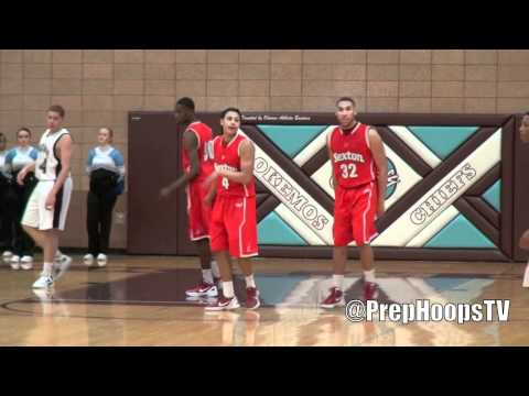 Cleveland State commit Bryn Forbes dunks a lob pass from Denzel Valentine