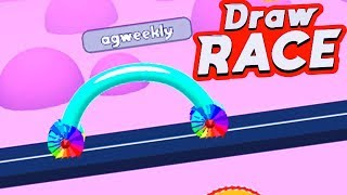 Draw Race (by VOODOO) Android Gameplay Walkthrough 1-11 Levels Video