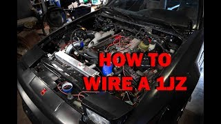 HOW TO WIRE A 1JZ VVTI [no experience necessary] (JZX110)