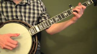 Free Banjo Lesson: 1st, 3rd and 5th String Exercises