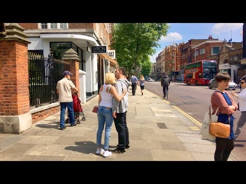 LONDON WALK | Kensington High Street | England