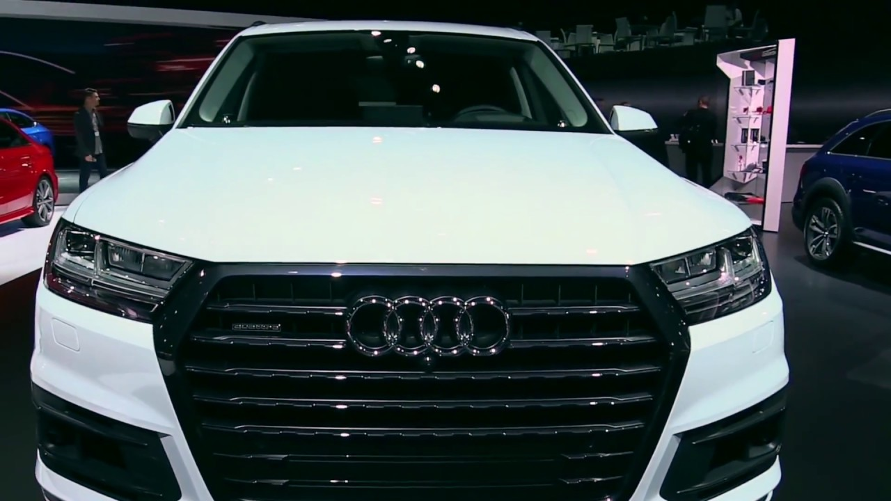 2017 Audi Q7 3.0T Quattro Pearl White | Exterior and Interior | First Impression | Look in HD ...