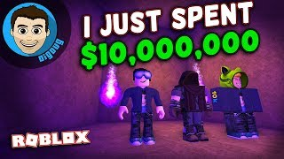 I Just Spent 10 Million Dollars in Roblox Lumber Tycoon 2 and it was Totally worth it!