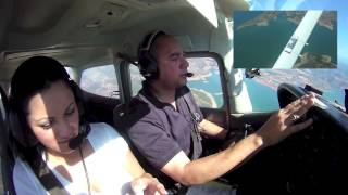 Cessna 172 Flight from Tracy (KTCY) to Columbia (O22) 1 of 2