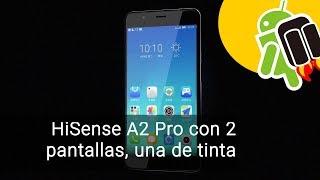 HiSense A2 Pro, con pantalla de tinta electrónica