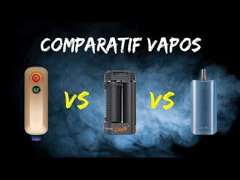 Comparatif vaporisateurs portables Firefly 2+, Crafty+ et DaVinci IQ2