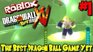 THE BEST DRAGON BALL GAME YET?!? | Roblox: Dragon Ball BLOXverse (Pre-Release) - Episode 1