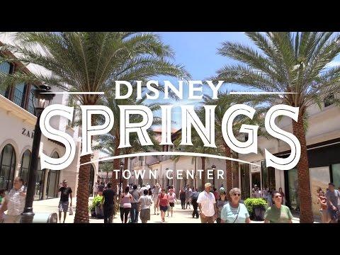 Disney Springs: Stroll Through the New Town Center