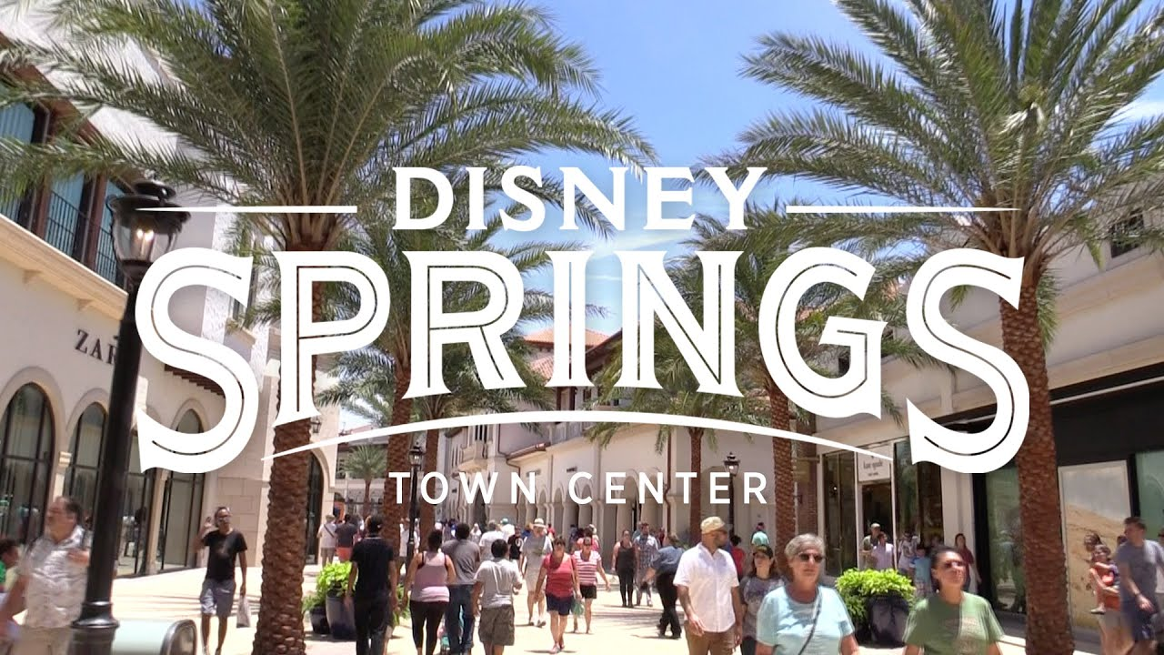 Free Room Disney Springs Stroll Through The New Town Center Youtube