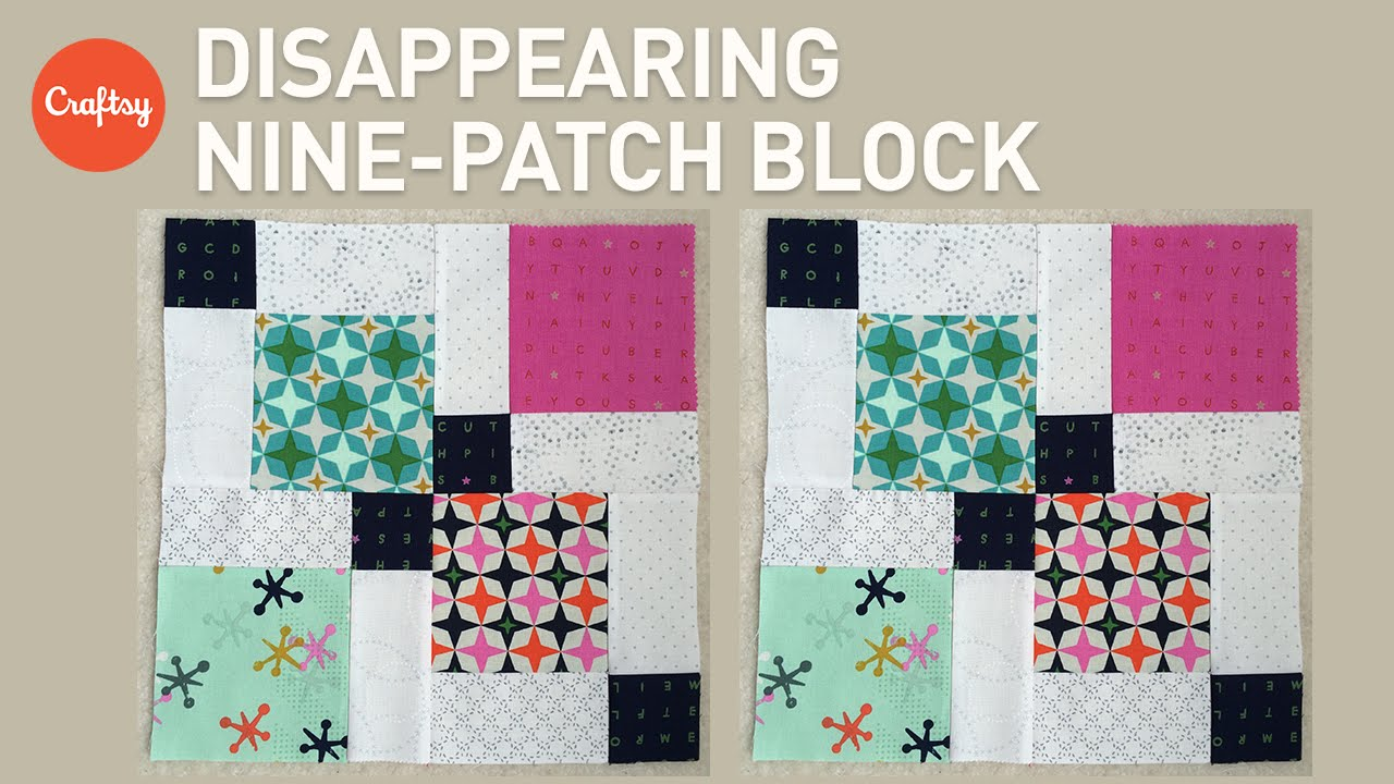 Quilting with Charm Packs: Disappearing Nine-Patch Block ... : nine block quilt pattern - Adamdwight.com