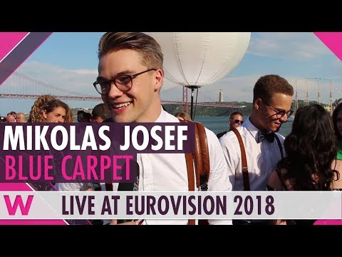Mikolas Josef (Czech Republic) @ Eurovision 2018 Red / Blue Carpet Opening Ceremony