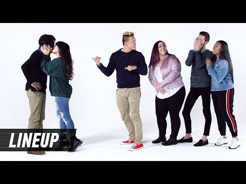 Who's the Best Kisser? #2 | Lineup | Cut