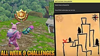 Week 9 Challenges FAST & EASY! Follow the Treasure Map found in Shifty Shafts! (Shifty Shafts Map)