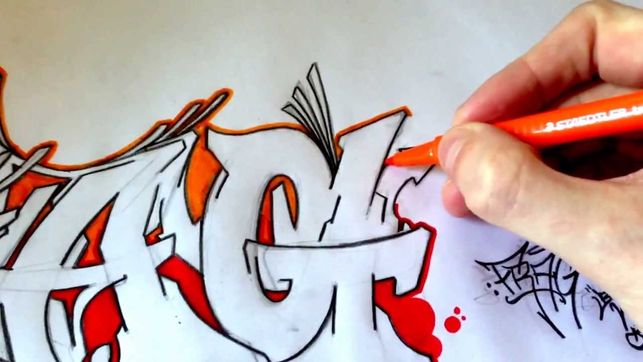 Frag graffiti by malsone unfinished