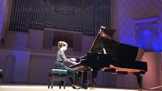 J.S.Bach. Overture in French Style B-moll. Echo. Yulianna Avdeeva