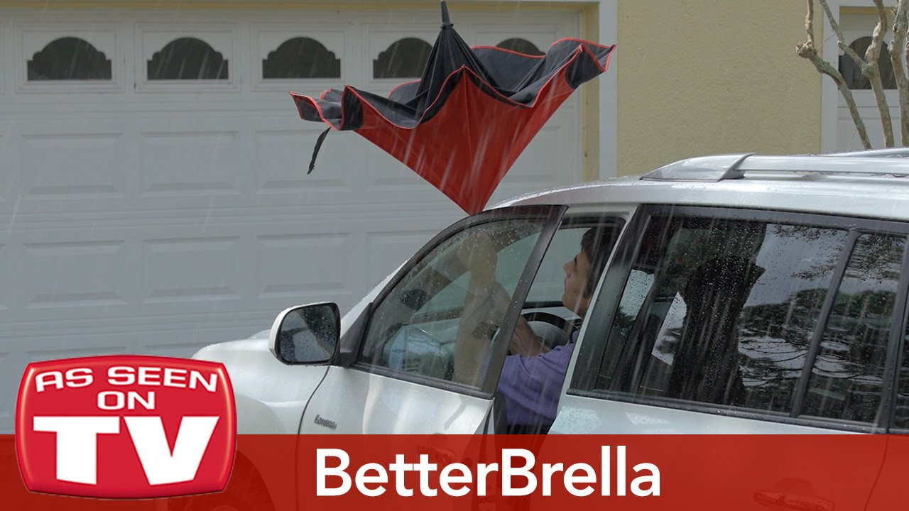 hight resolution of betterbrella reverse close umbrella