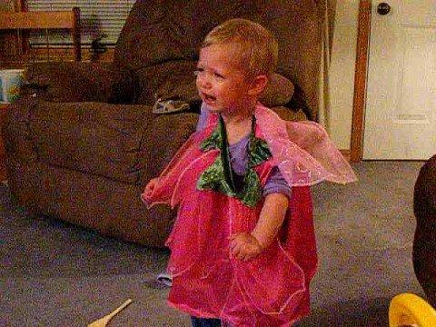Mattie's Halloween costume meltdown