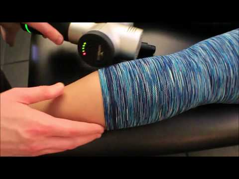 Gastrocnemius and Soleus Vibration Release with Vibration Massage Device (Hypervolt from Hyperice)