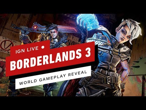 Borderlands 3 Worldwide Gameplay Reveal - IGN