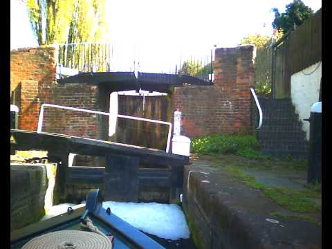 Timelapse Canals:  Stourton Junction to Dudley via Stourbridge