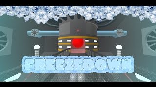 Innovation Inc. Spaceship - Freezedown and the escape! // Roblox